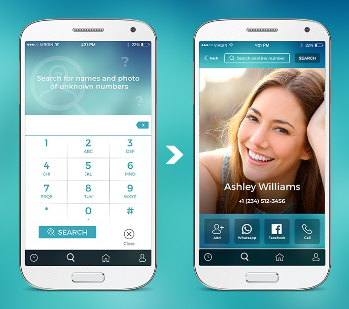 Can I search for names and photos of a phone number? - Eyecon Support