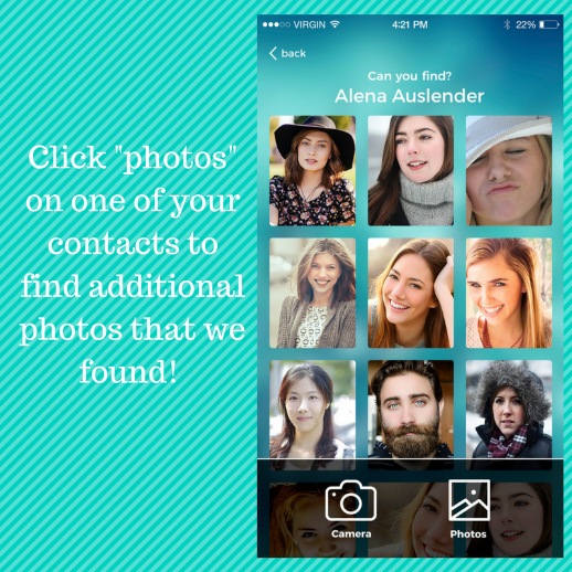 contact addressbook photos